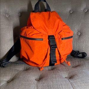 NWT BAGGU Classic Small Sport Backpack Tomato